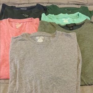 Huge lot of 7 men's t shirts
